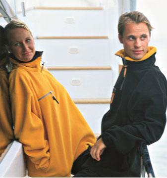 Fleece Jackets - Contrast collar