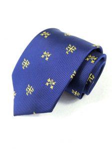 Woven Silk Tie with bespoke pattern