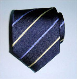 Woven Silk Striped Tie
