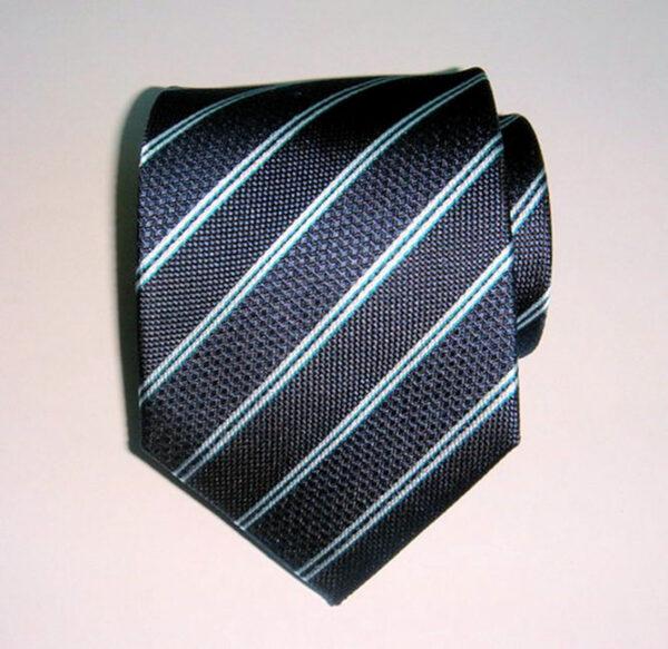 Striped woven Silk Tie