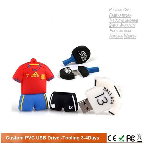 PVC USB drive bespoke