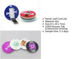 leaf card usb stick