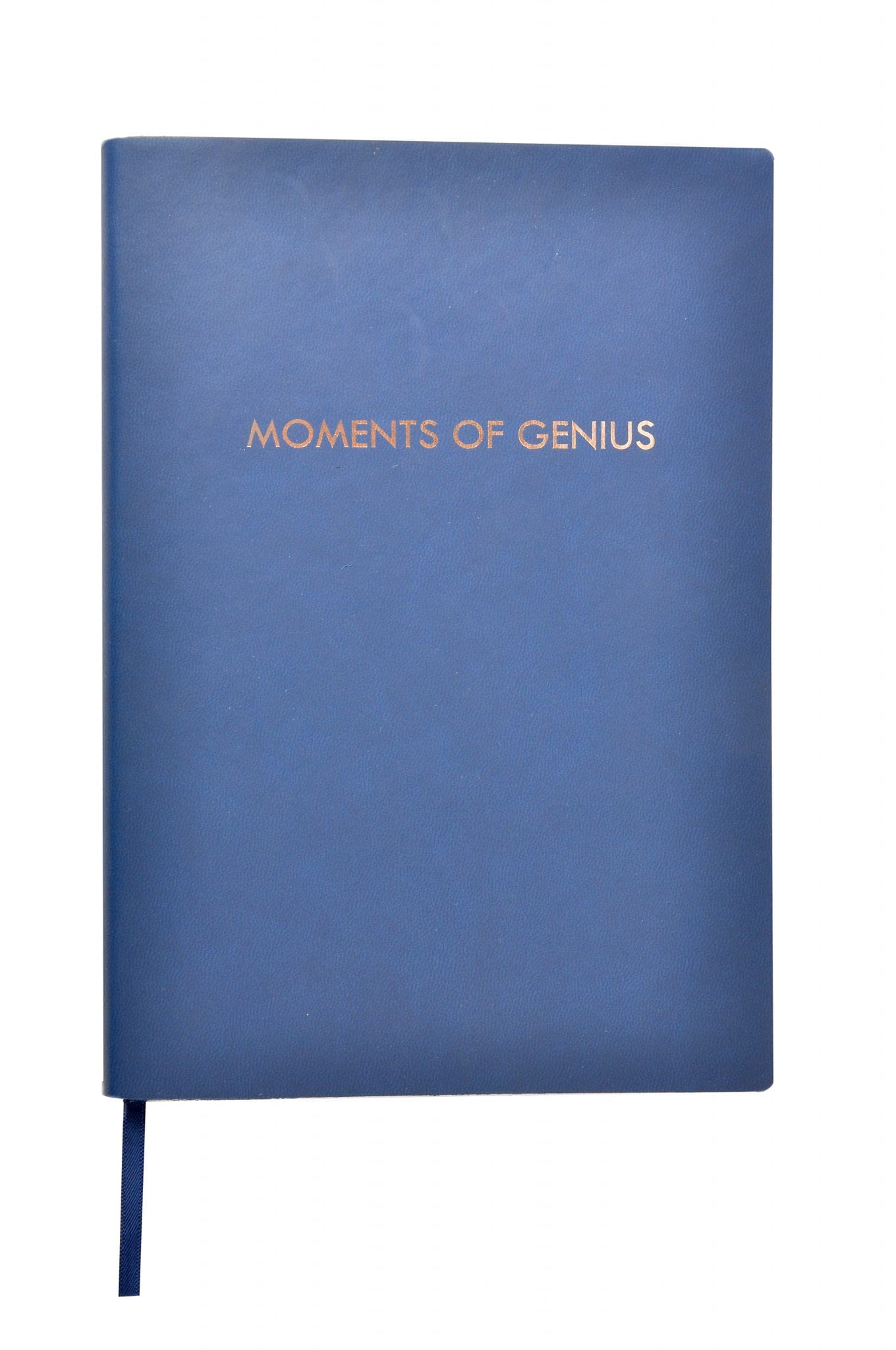 Blue Notebook with flexible PU cover