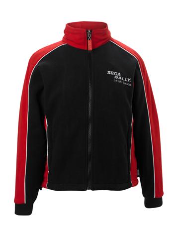 Sega Rally Black and Red Fleece