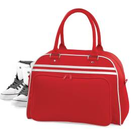 red sports bag