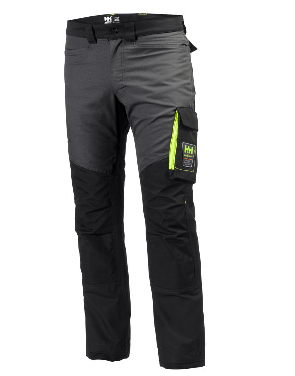Helly Hanson Black and Grey Trousers