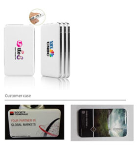 6500MAH slim uv coating powerbank