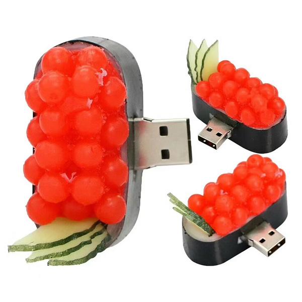 3D PVC USB Drive Fruit