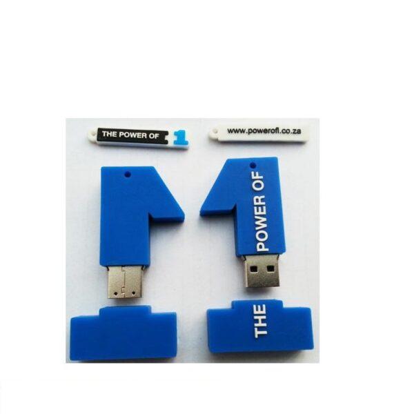 3D PVC USB Drive Number 1