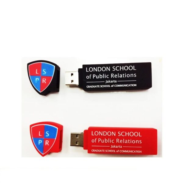 3D PVC USB Drive School