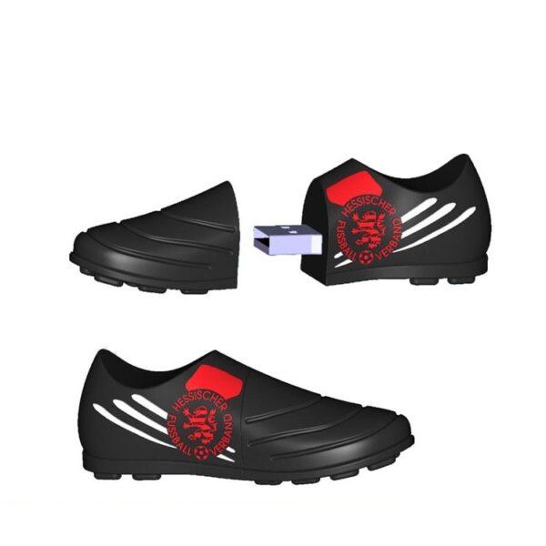 3D PVC USB Drive Football bootS