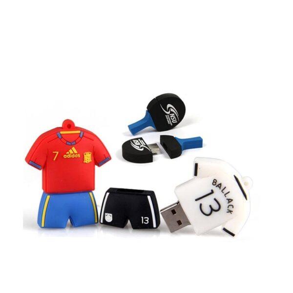 3D PVC USB Drive Soccer Kit 1