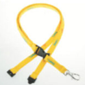 Polyester Flat shoelace Lanyards