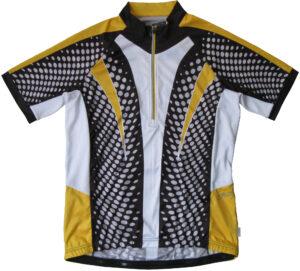 Qtr Zip Cycling vest front