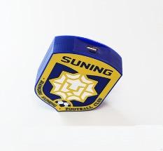 3D Promotional Power Bank Shield Design